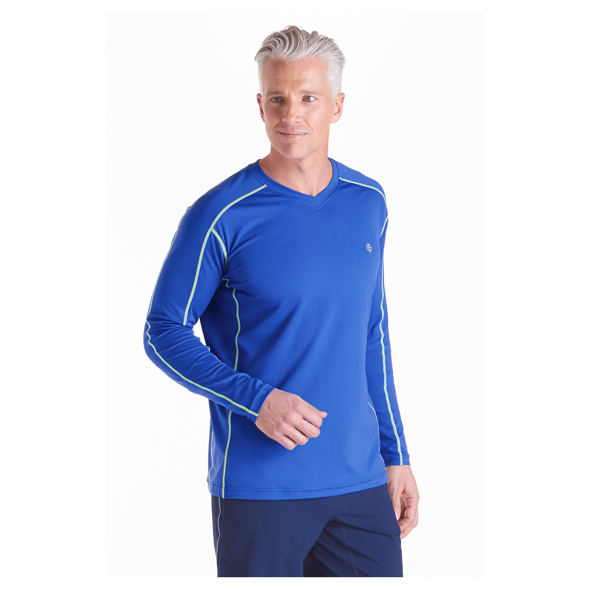 Coolibar Upf 50 Men 39 S Long Sleeve Cool Fitness Shirt Sun