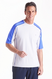 Short Sleeve Cool Fitness Crew Neck Shirt