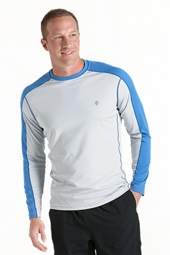 Long Sleeve Cool Fitness Crewneck Shirt