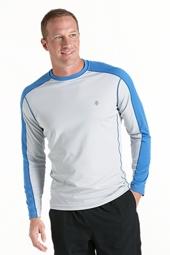 Long Sleeve Cool Fitness Crewneck Shirt