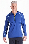 Long Sleeve Quarter-Zip Fitness Shirt
