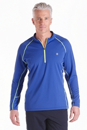 Long Sleeve Quarter Zip Fitness Shirt