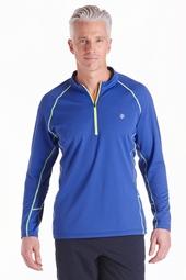 Long Sleeve Quarter-Zip Fitness Shirt
