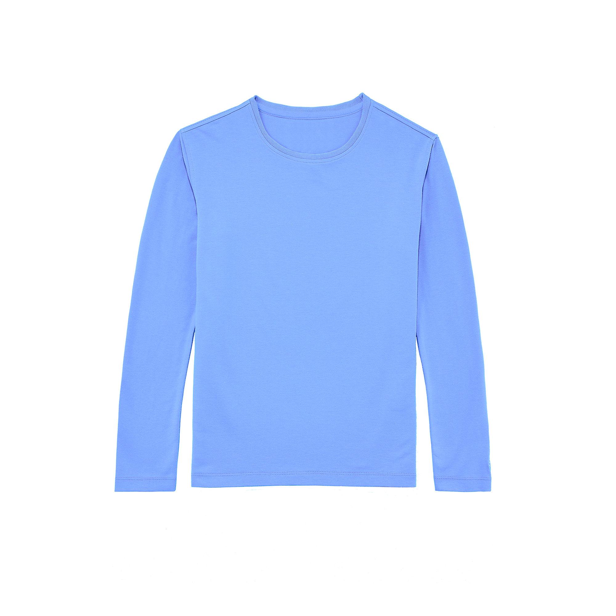 Coolibar upf 50 kid 39 s zno long sleeve t shirt sun for Custom sun protection shirts