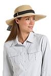SmartStraw Packable Tropicana Sun Hat