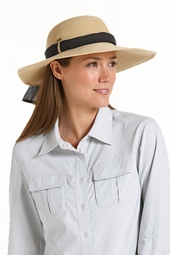 SmartStraw Packable Tropicana Sun Hat