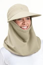 Draped Sun Hat