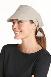 Tie Back Sun Cap