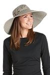 Wide Brim Cotton Sun Hat