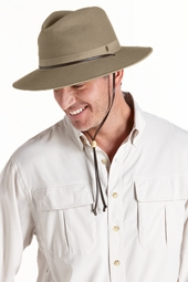 Crushable Ventilated Canvas Hat