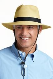 SmartStraw Packable Fedora Hat