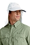 Collar Clip Fishing Hat
