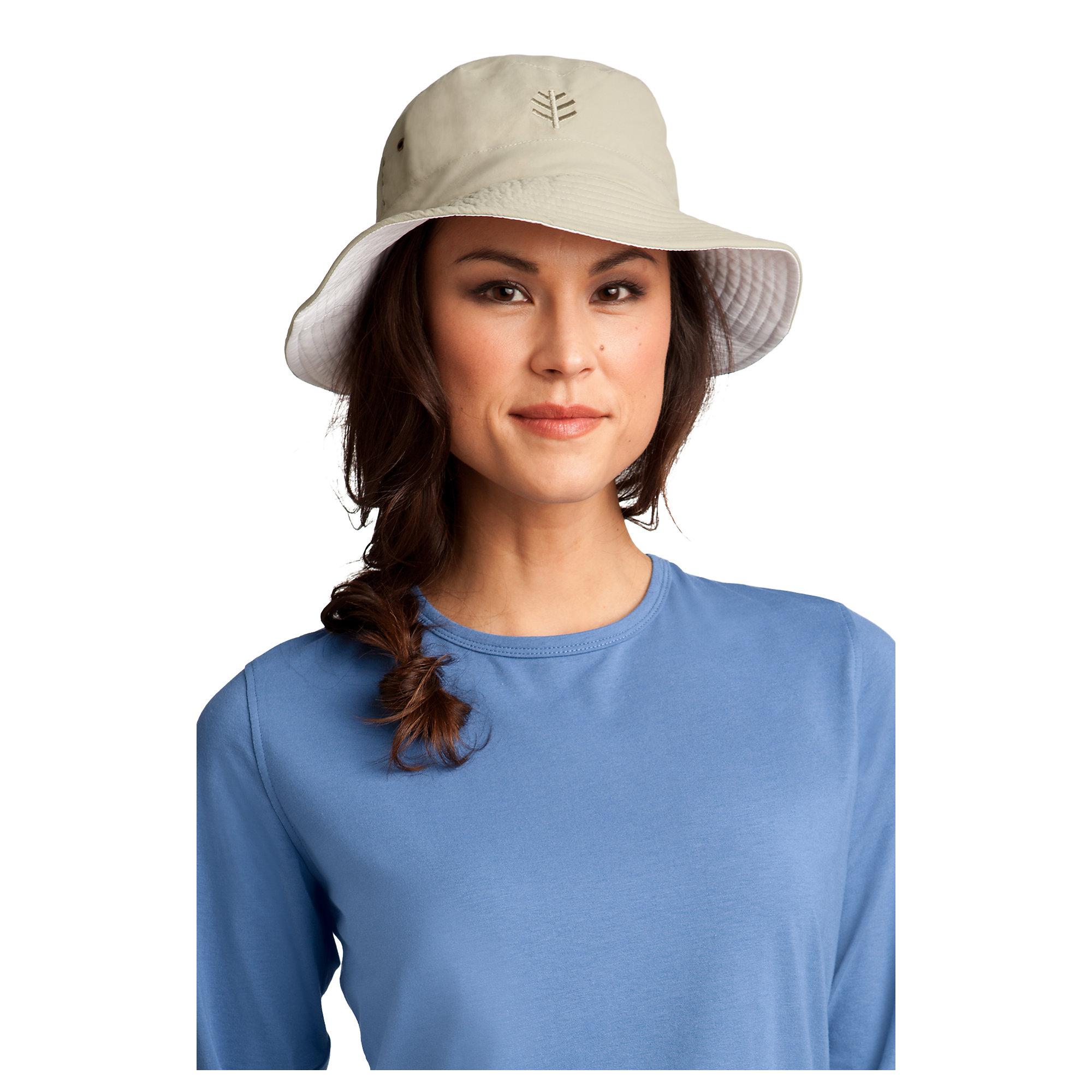 Coolibar UPF 50 Women's Reversible Bucket Hat   eBay