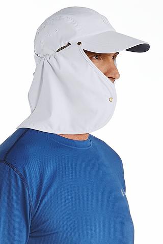 Custom super sport hat sun protective clothing coolibar for Custom sun protection shirts