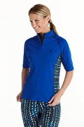 Women's Short Sleeve Swim Shirt
