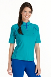 Women's Short-sleeve Swim Shirt