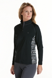 Long-sleeve Swim Shirt - Print