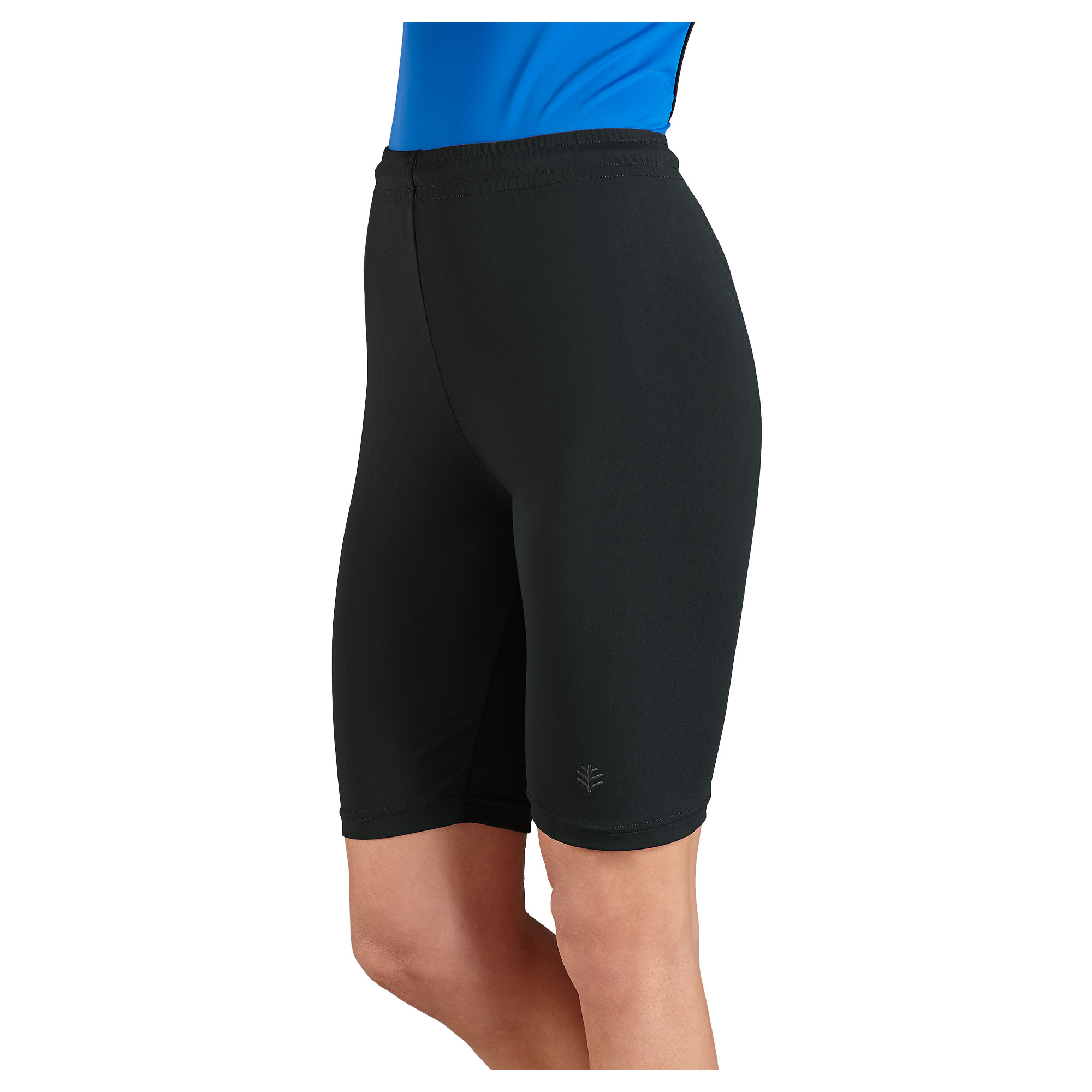 Coolibar upf 50 womens swim shorts sun protection for Women s fishing shorts