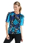 Short Sleeve Paddle Swim Shirt - Print
