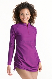 <i>Updated</i> Ruche Swim Shirt