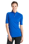 Short Sleeve Quarter-Zip Swim Shirt