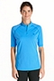 Short Sleeve Quarter-Zip Swim Shirt
