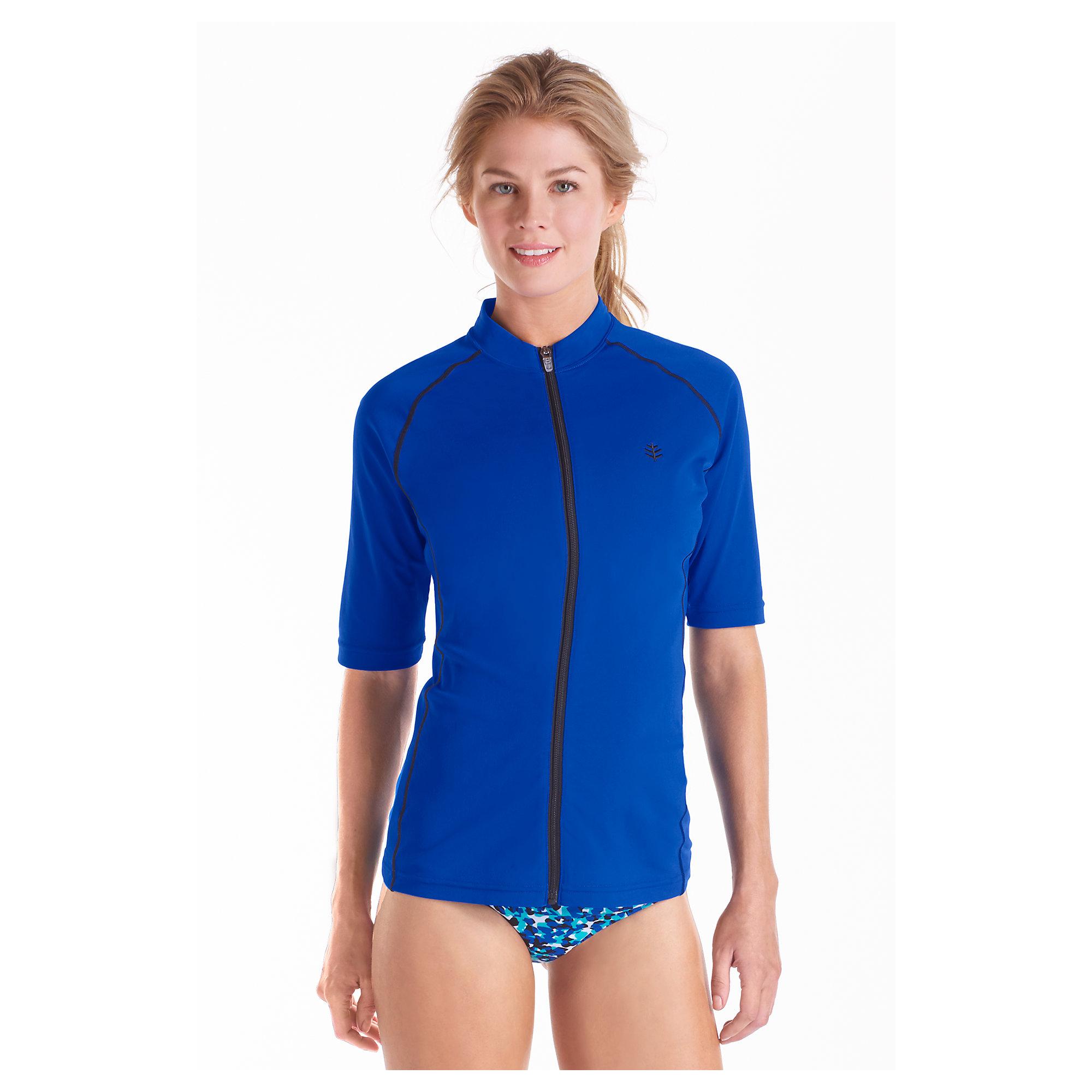 Womens Swim Shirts Sun Protection