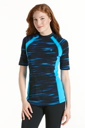 Active Rash Guard Short Sleeve - Print