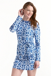 Coastline Cover Up Dress - Icon Ikat