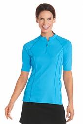 Short Sleeve Rash Guard - Plus Size