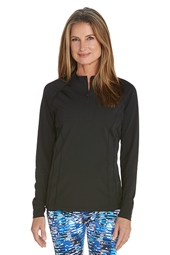 Long Sleeve Rash Guard - Plus Size