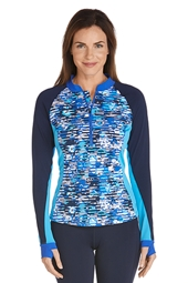 Half-Zip Rash Guard