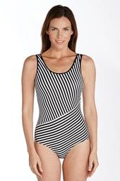 Scoop Neck One-Piece Swimsuit