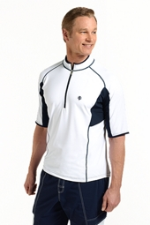 Short-Sleeve Quarter-Zip Splash Guard