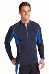Long-Sleeve Quarter-Zip Splash Guard