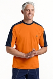 Short Sleeve Crew Neck Swim Shirt