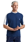 Short-sleeve Crewneck Swim Shirt