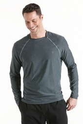 Long Sleeve Aqua T-Shirt