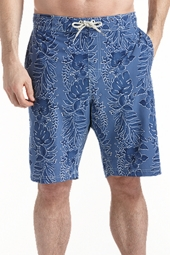 The Island Swim Trunks - Blue Tropic