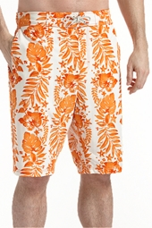 The Island Swim Trunks - Orange Tropic