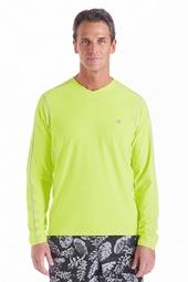Long Sleeve Aqua T-Shirt