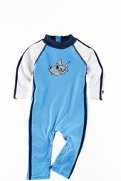 Infant Speed Racer Swim Romper