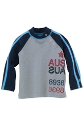 Boys Infant Rash Guard - Sail Art