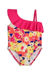Toddler Shoulder Ruffle Swimsuit