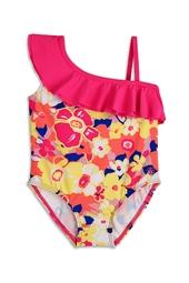 Toddler Shoulder Ruffle Swimsuit