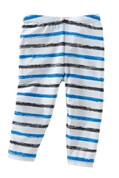 Boy's Infant Swim Tights - Cancun Graphite Stripe