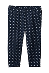 Baby Girl's Swim Tights - Navy Polka Dot