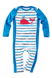 Boy's Infant Swim Romper