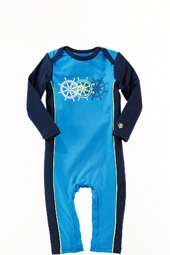Boy's Infant Swim Romper - Cancun