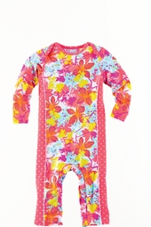 Baby Girl's One Piece Swimsuit - Paradise Floral